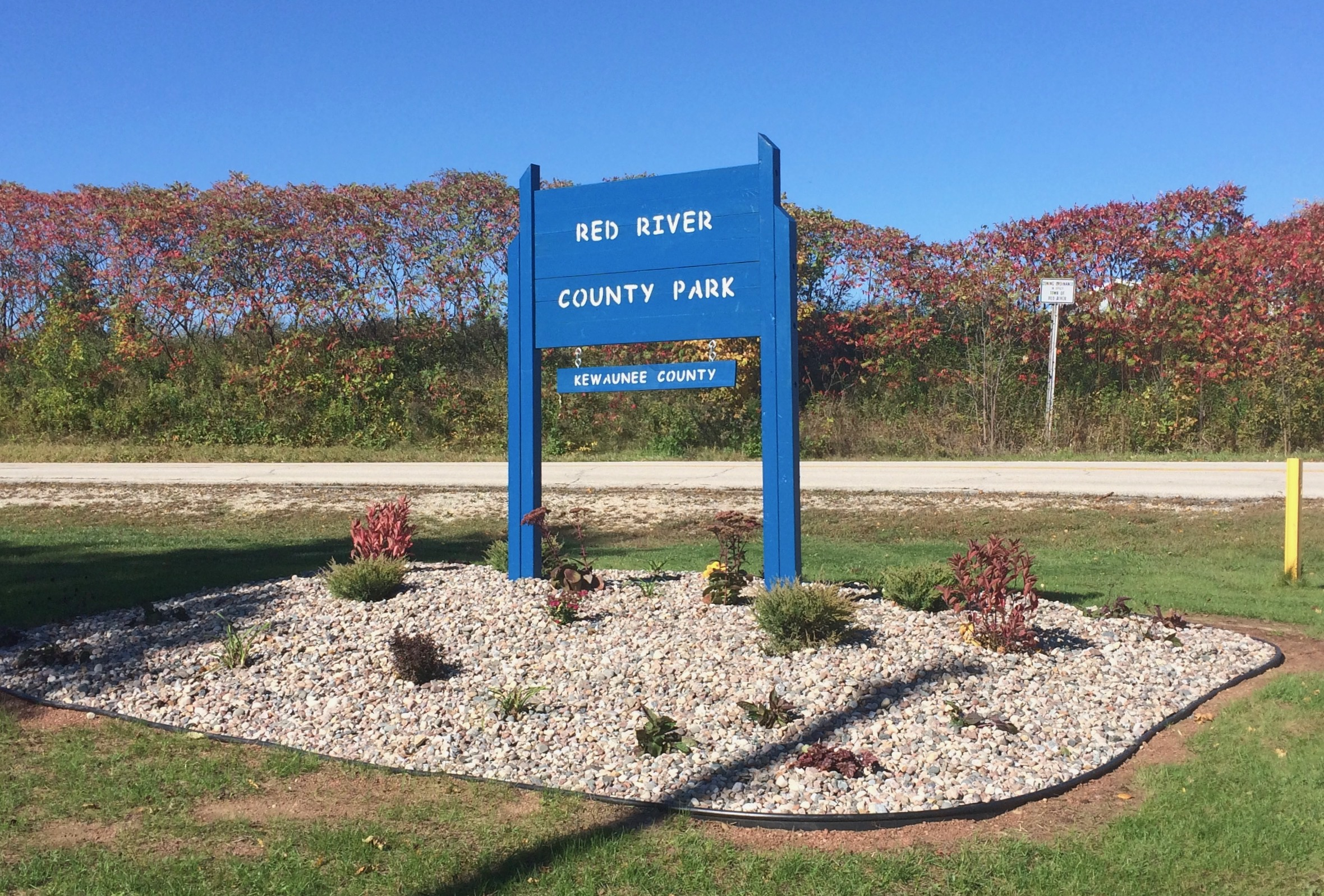 red-river-park-sign